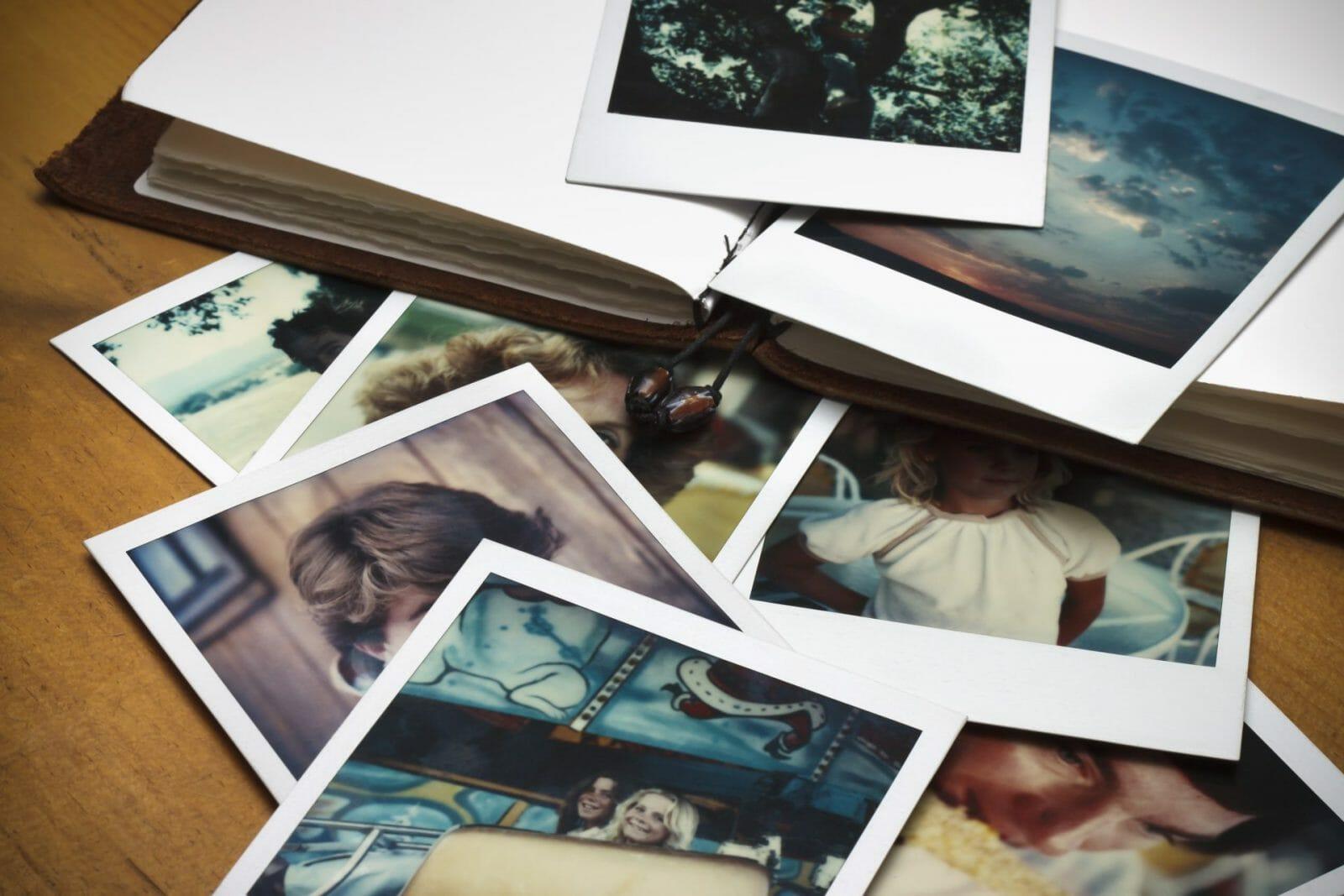 Bilder i et album